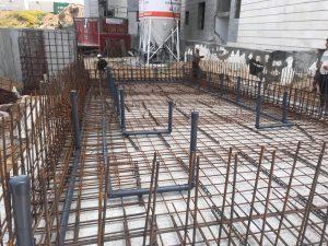 בניית בריכות בטון
