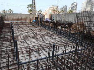 בניית בריכת בטון